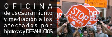 Oficina de asesoramiento y mediación a los afectados por hipotecas y deshaucios en Ciudad Real