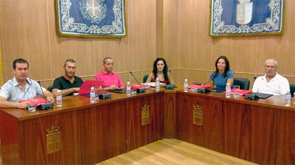 Fotografía del grupo municipal socialista de Villarrubia de los Ojos
