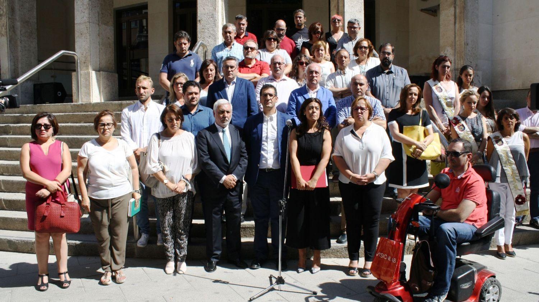 El PSOE provincial se une al minuto de silencio de Ciudad Real en memoria de las víctimas del atentado de Barcelona