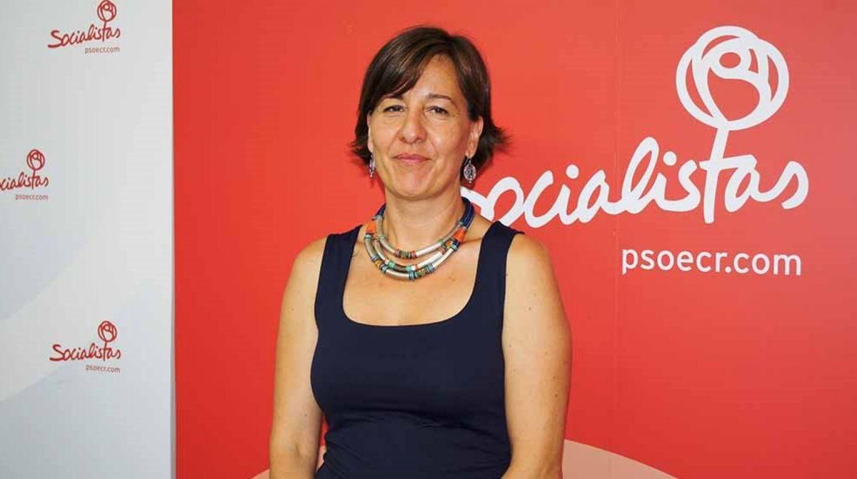 Blanca Fernández es la vicesecretaria general de la Ejecutiva Provincial del PSOE de Ciudad Real.