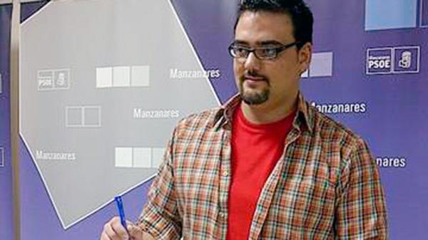 José Manuel Caballero en rueda de prensa